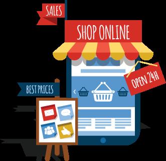 eCommerce Website Design & Development Company India ₹7999/$299